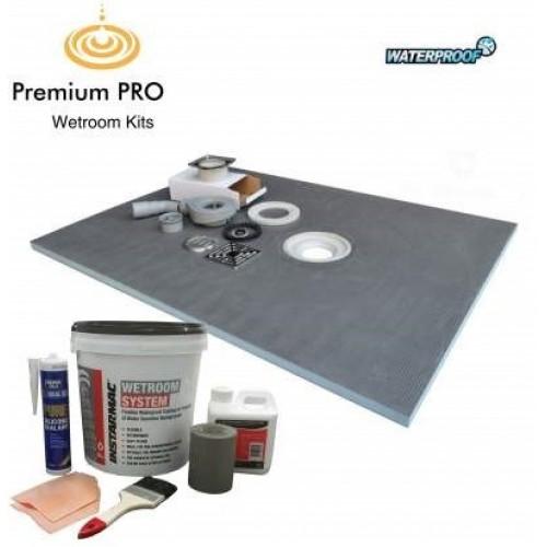 wetroom shower tray kit 1000x1000mm pro20 instarmac. Black Bedroom Furniture Sets. Home Design Ideas