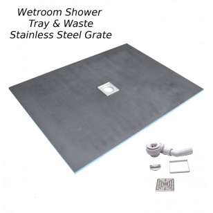 Wetroom Shower Tray Kit 1200x900mm